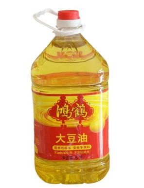 鸿鹤一级大豆油5l